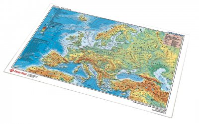 Desk Pad with Map